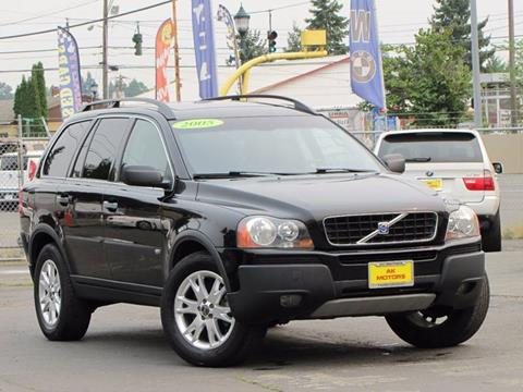 2005 Volvo XC90 for sale at AK Motors in Tacoma WA