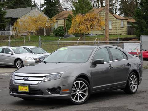 2010 Ford Fusion for sale at AK Motors in Tacoma WA