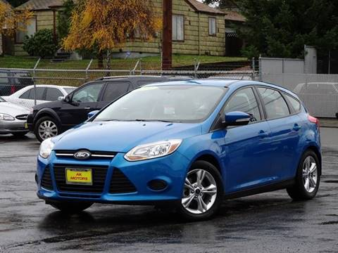 2014 Ford Focus for sale at AK Motors in Tacoma WA