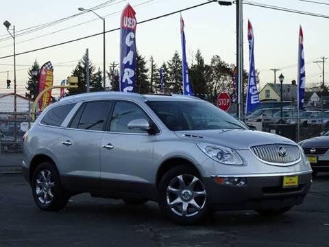 2010 Buick Enclave for sale at AK Motors in Tacoma WA