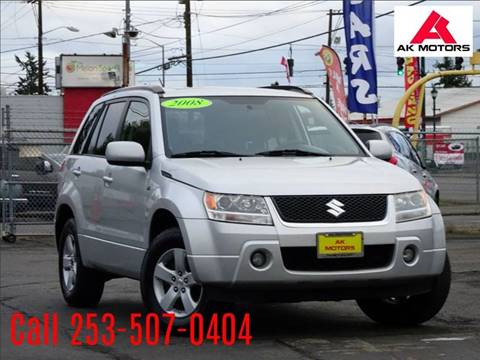2008 Suzuki Grand Vitara for sale at AK Motors in Tacoma WA