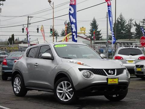 2011 Nissan JUKE for sale at AK Motors in Tacoma WA