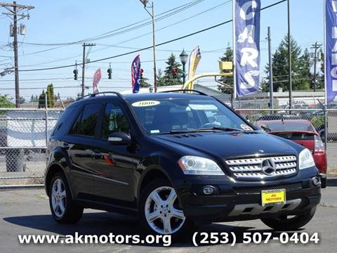 2006 Mercedes Benz M Class For Sale In Tacoma, WA