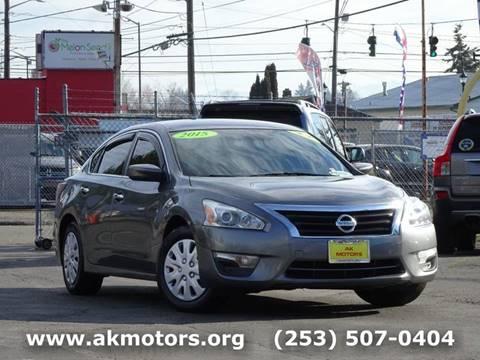 2015 Nissan Altima for sale in Tacoma, WA