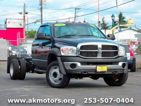 2008 Dodge Ram Chassis 5500 for sale in Tacoma, WA