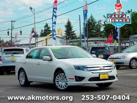 2012 Ford Fusion Hybrid for sale in Tacoma, WA