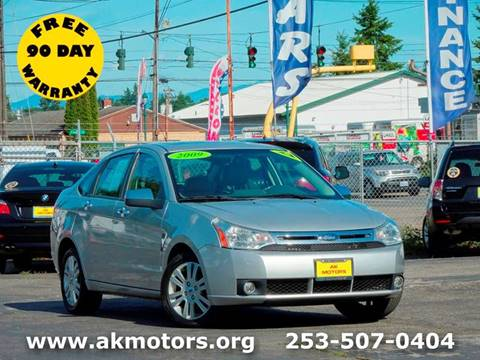 2009 Ford Focus for sale in Tacoma, WA