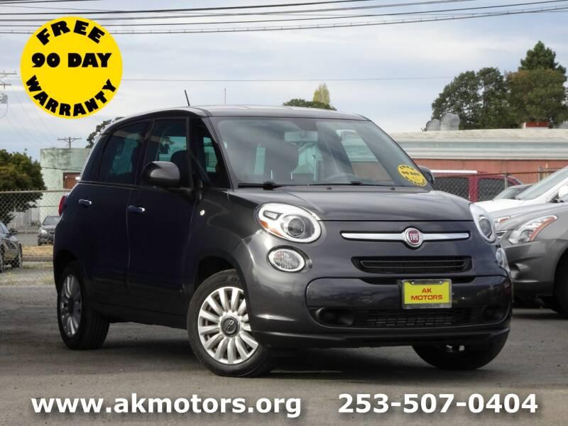 2014 FIAT 500L for sale at AK Motors in Tacoma WA