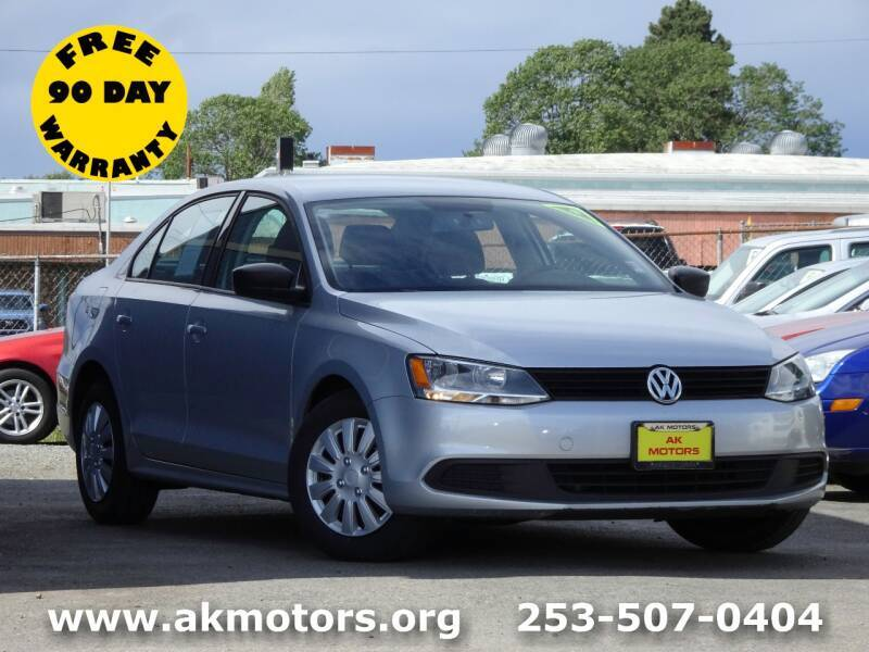2012 Volkswagen Jetta for sale at AK Motors in Tacoma WA