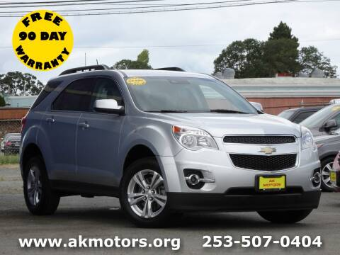 2014 Chevrolet Equinox for sale at AK Motors in Tacoma WA