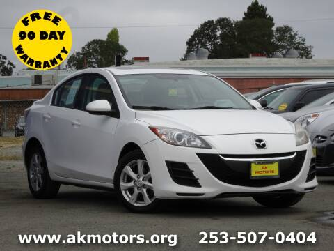 2010 Mazda MAZDA3 for sale at AK Motors in Tacoma WA