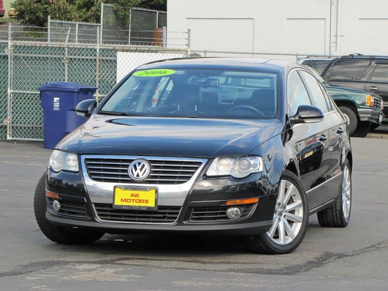 2006 Volkswagen Passat for sale at AK Motors in Tacoma WA