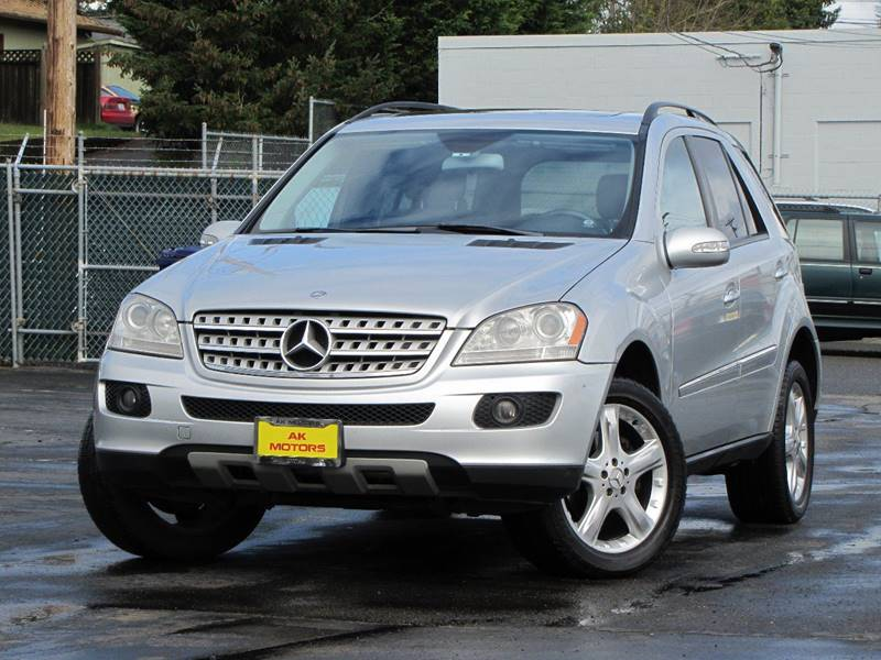 2006 Mercedes-Benz M-Class for sale at AK Motors in Tacoma WA