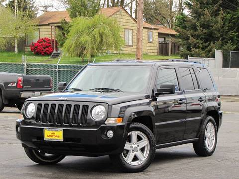 2010 Jeep Patriot for sale at AK Motors in Tacoma WA