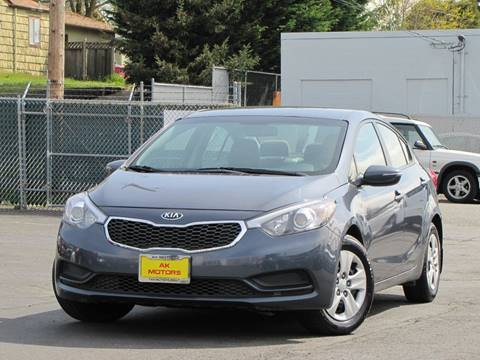 2015 Kia Forte for sale at AK Motors in Tacoma WA