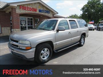 2001 Chevrolet Suburban for sale in Abilene, TX