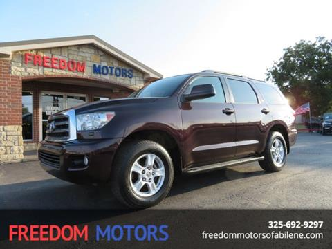2013 Toyota Sequoia for sale in Abilene, TX