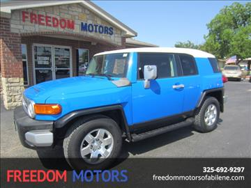 2007 Toyota FJ Cruiser for sale in Abilene, TX