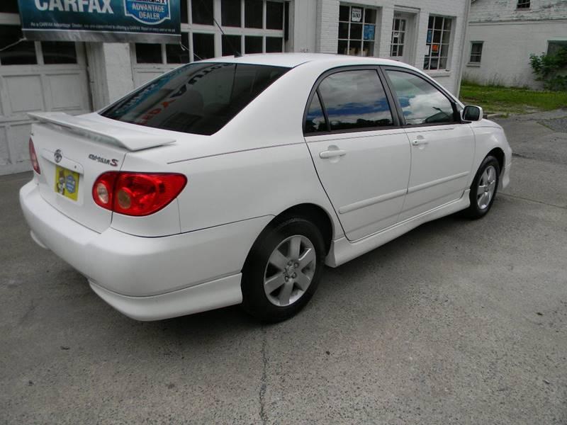 2005 Toyota Corolla S 4dr Sedan - Troutville VA
