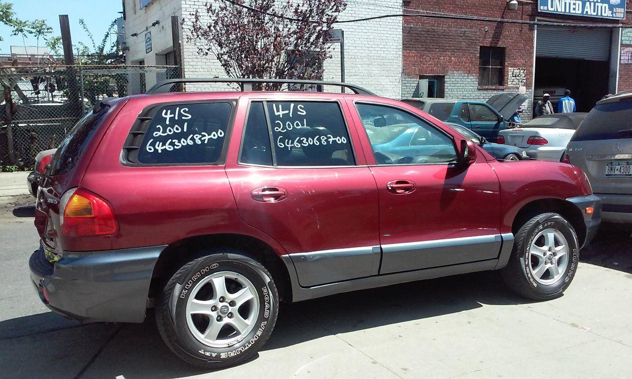 2001 Hyundai Santa Fe For Sale At Jokari Auto Sales In Newark NJ