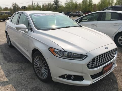 2014 Ford Fusion Hybrid for sale in Sabattus, ME