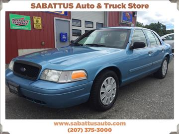 2010 Ford Crown Victoria for sale in Sabattus, ME