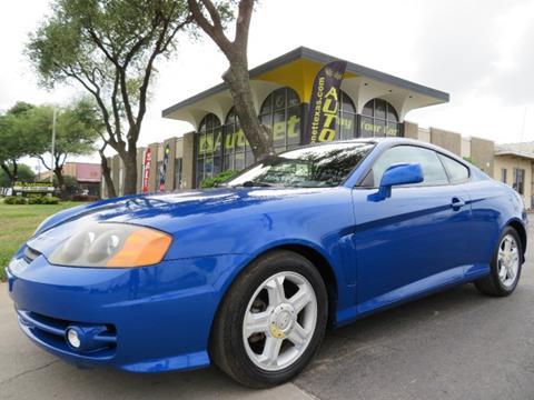 2004 Hyundai Tiburon for sale in Dallas, TX