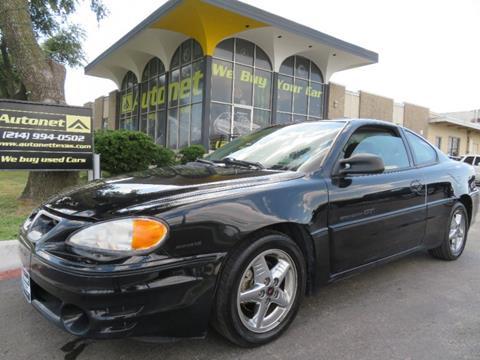 2001 Pontiac Grand Am for sale in Dallas, TX