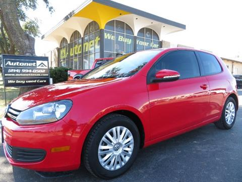 2012 Volkswagen Golf for sale in Dallas, TX