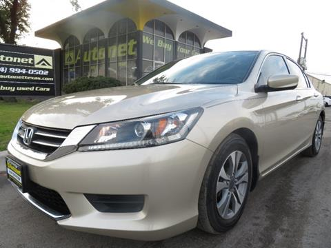 2014 Honda Accord for sale in Dallas, TX