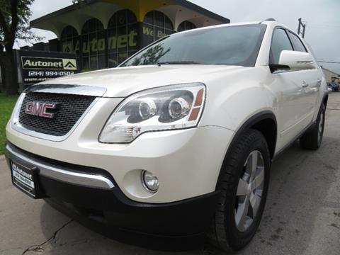 2011 GMC Acadia for sale in Dallas, TX