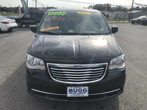 2016 Chrysler Town and Country for sale in Rustburg, VA