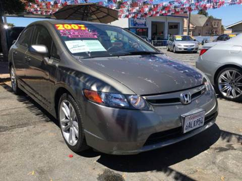 2007 Honda Civic for sale in Freedom, CA