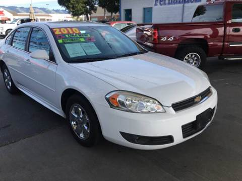 2010 Chevrolet Impala for sale in Freedom, CA