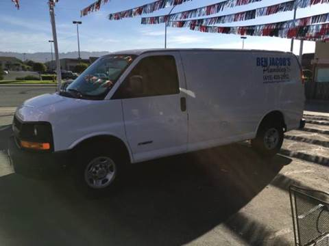 2005 Chevrolet Express Cargo for sale in Freedom CA