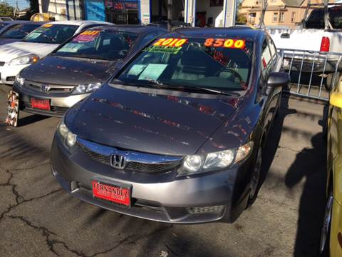 2010 Honda Civic for sale in Freedom, CA