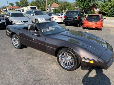 1989 Chevrolet Corvette for sale at Auto Choice in Belton MO