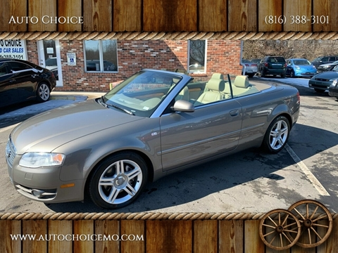2007 Audi A4 for sale at Auto Choice in Belton MO