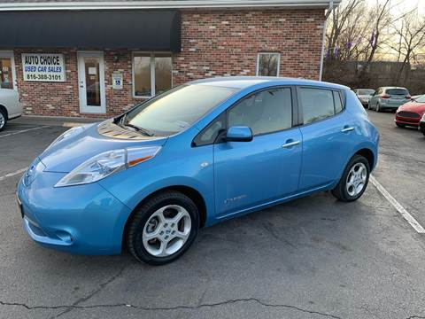 2012 Nissan LEAF for sale at Auto Choice in Belton MO