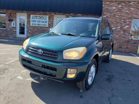 2002 Toyota RAV4 for sale at Auto Choice in Belton MO