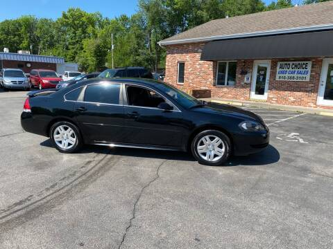 2013 Chevrolet Impala for sale at Auto Choice in Belton MO