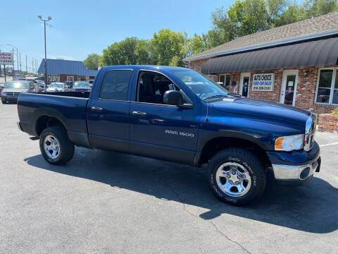 2003 Dodge Ram Pickup 1500 for sale at Auto Choice in Belton MO