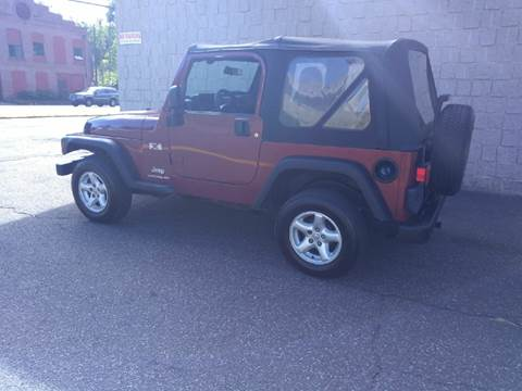 2004 Jeep Wrangler Sport For Sale In Waterbury, CT