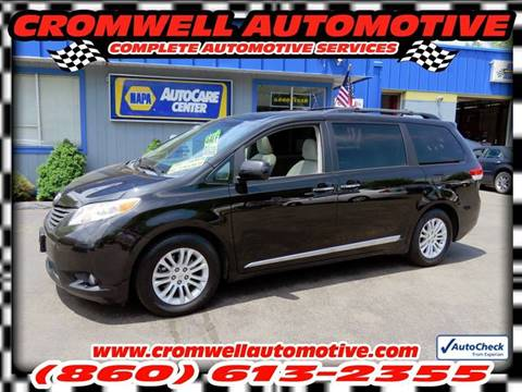 2011 Toyota Sienna for sale in Cromwell, CT