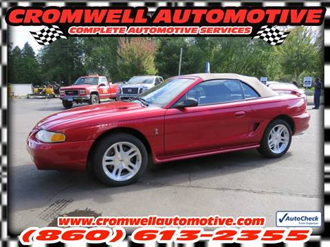 1998 Ford Mustang for sale in Cromwell, CT
