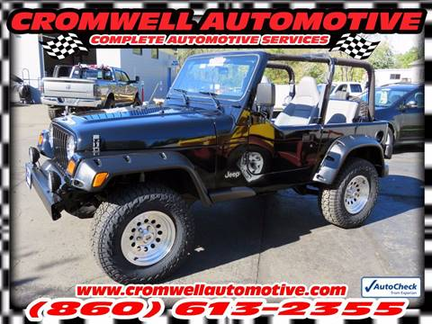 1997 Jeep Wrangler for sale in Cromwell, CT