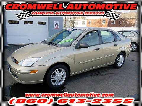2002 Ford Focus for sale in Cromwell, CT