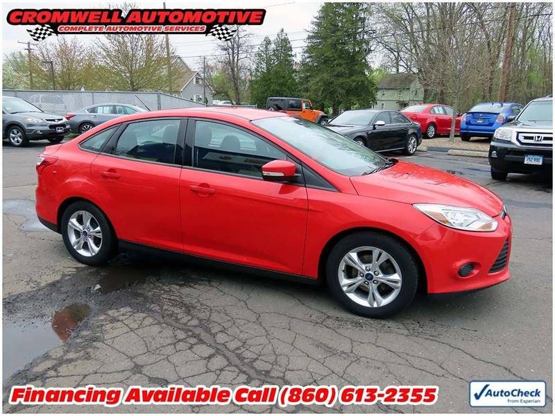 2014 Ford Focus SE 4dr Sedan In Cromwell CT - Cromwell