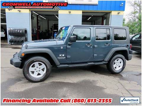 2008 Jeep Wrangler Unlimited for sale in Cromwell, CT