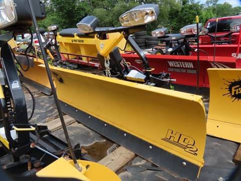 Used Fisher Plow 8ft HD2 for sale in Cromwell, CT